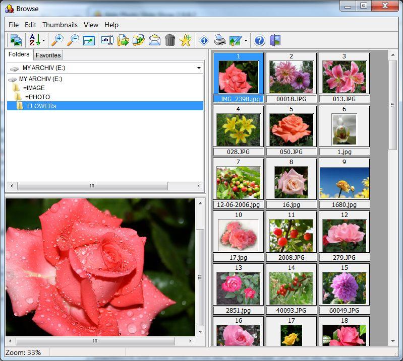 photo slideshow browse