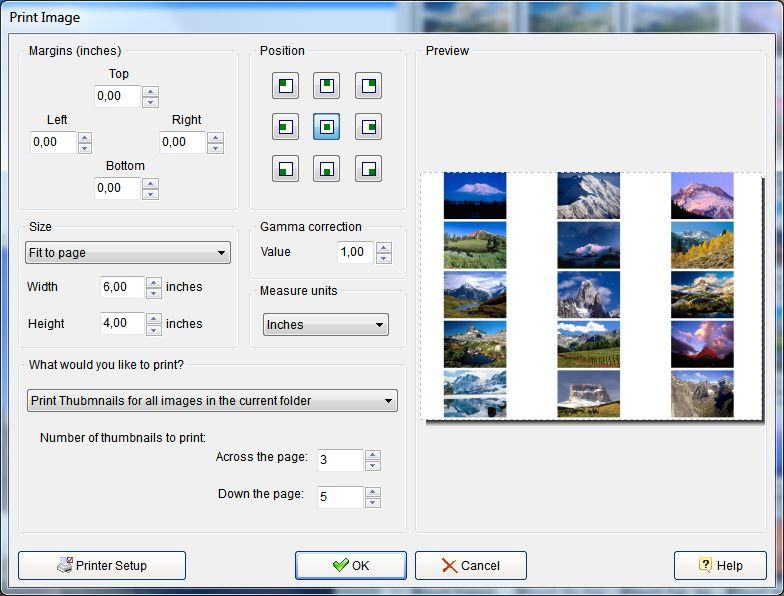 photo slide show print image