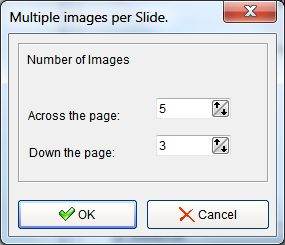 photo slide show multiple images per slide