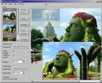 Power Layers - image, layer, merge, jpg, png, bmp, pcx, gif, dib, rle, tga, pdf, ps, eps - Power Layers allows to work with the several images as with layers.